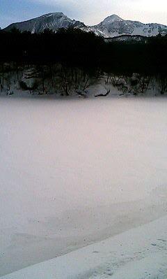 冬の弁天沼