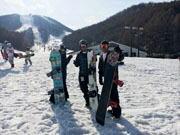 裏磐梯のスキー場