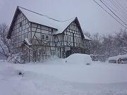 裏磐梯は豪雪地帯